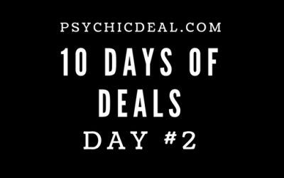 Ten Days of Deals (Day #2): Get 4-minutes free online chat with every reader.