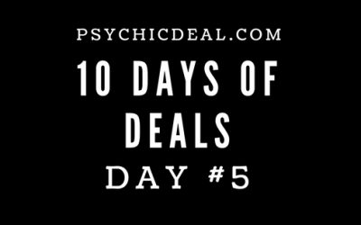 Ten Days of Deals (Day #5): Get unlimited free-chat and 9.99 Free credits for private video readings.